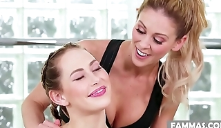 You can join now to the family business! # Cherie DeVille and Carter Cruise