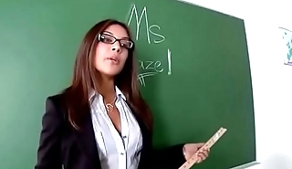 Jynx Maze Naughty Teacher who take expensive