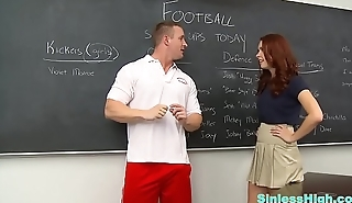 Teacher Fucks Teen Schoolchick