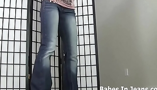I love how my fat ass looks in these jeans JOI