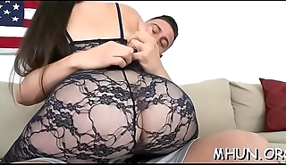 Wet and squelching cunt of a milf gets team-fucked hard