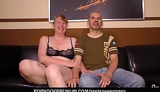 SEXTAPE GERMANY - German newbie couple films their first sex tape