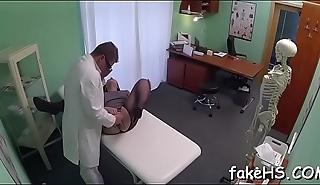 Discover out of doors that stunning fucking session in conduct oneself hospital