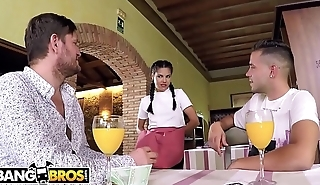 BANGBROS - Hot Young Upstairs maid Apolonia Working Hard For The Money