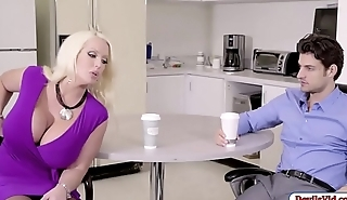 Alura fucks office helpmate after a blowjobAlura fucks office helpmate after a blowjob