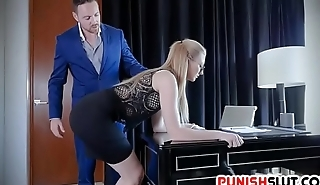 Sexy Secretary Shattered To Obey Kinky Nabob Nasty Commands