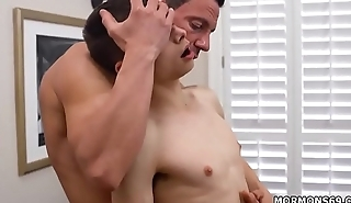 Young boys having gay sex surrounding older mens and sucks dads friends off