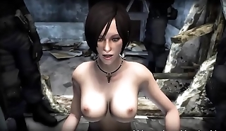 Ada-Wong-gets-Spooked - Best Free 3D Ridicule
