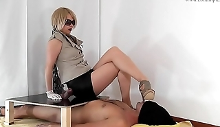 Adult-Wonders.com eat your own cum from my heels 720p